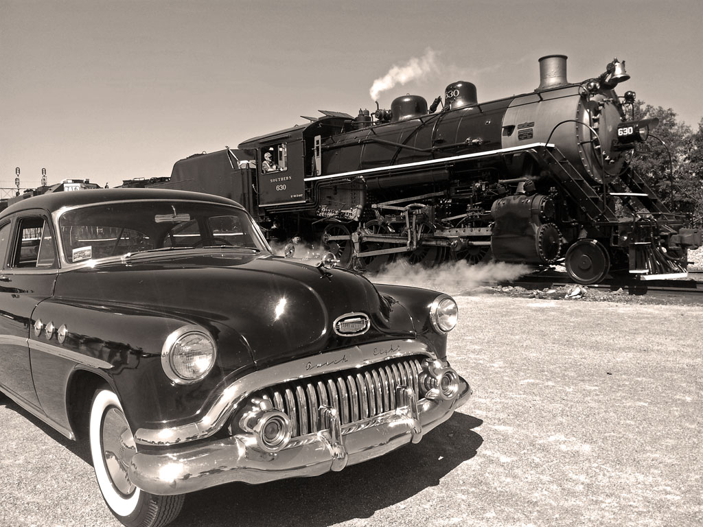 "'52 Buick ""Jack"" meets the Southern 630"