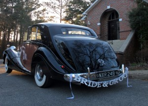 """Bride & Groom"", featuring 1951 Rolls-Royce Limousine ""Catherine"""