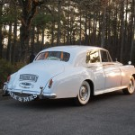 """Mr. and Mrs."", featuring 1956 Rolls-Royce Silver Cloud ""Elizabeth"""
